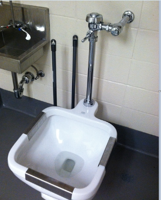 Proflo Mop Sink : Floor+Service+Sink What a Waste (Removal System)! ASPCA Professional
